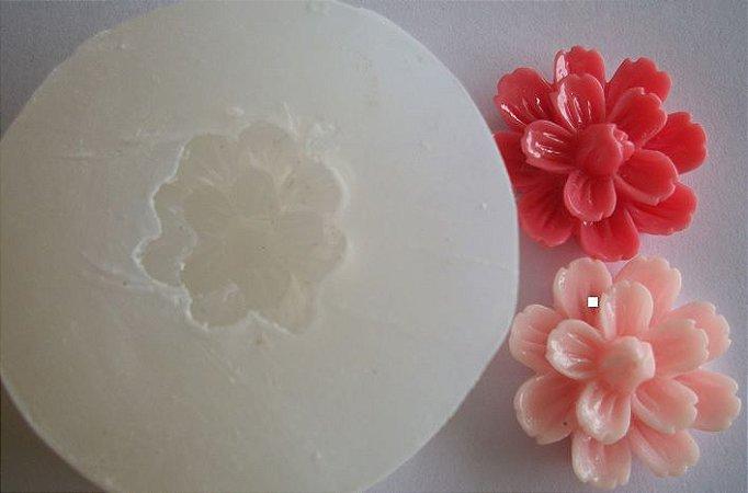 Molde de Silicone Flor Dalia M (2cm)