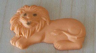 Leão (3 cm) 17 unid.
