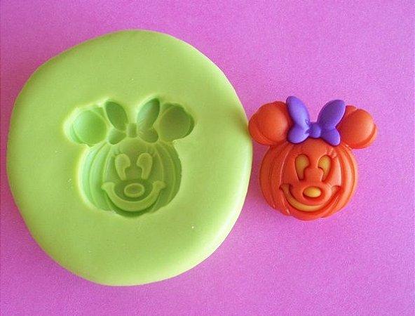 Molde de Silicone Abóbora Minnie (2 cm)