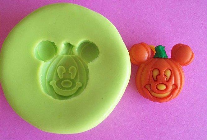 Molde de Silicone Abóbora Mickey (2 cm)