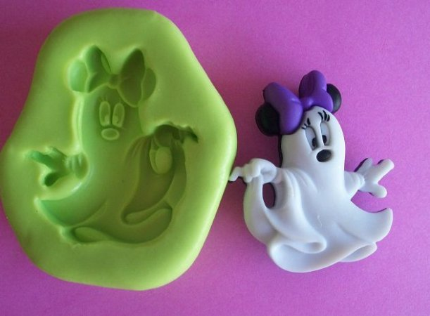 Molde de Silicone Fantasma Minnie (3,2cm)