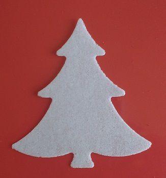 Aplique Árvore Natal em PA  (Tamanho 5cm)