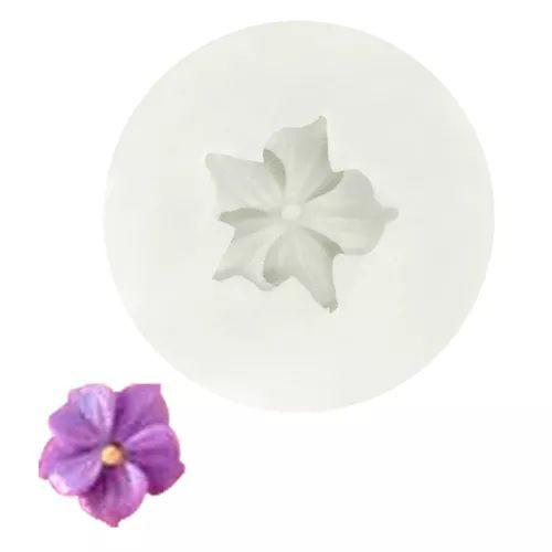 Molde de silicone Flor Jasmim P