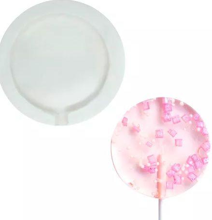 Molde de silicone Pirulito (5cm) P
