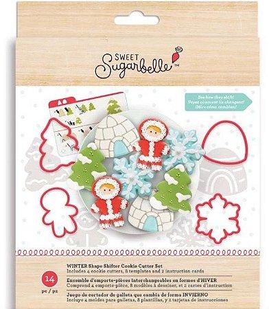 Kit Decoração Cookie Winter - Sweet Sugarbelle