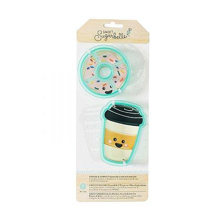 Kit Decoração de Coffer & Donut - Sweet Sugarbelle