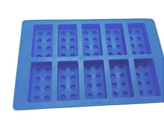 Forma de silicone Peças de Lego