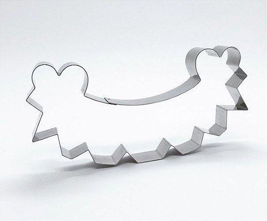 Cortador de biscoito Bandeirinhas (11cm)