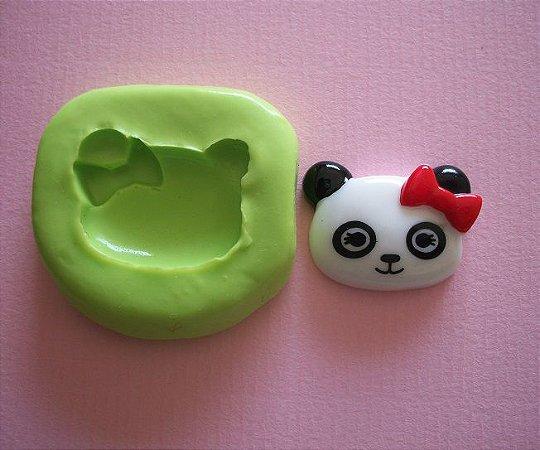 Molde de Silicone Urso Panda p/ cupcake (2,7cm)