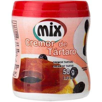 Cremor de Tártaro 50g Mix