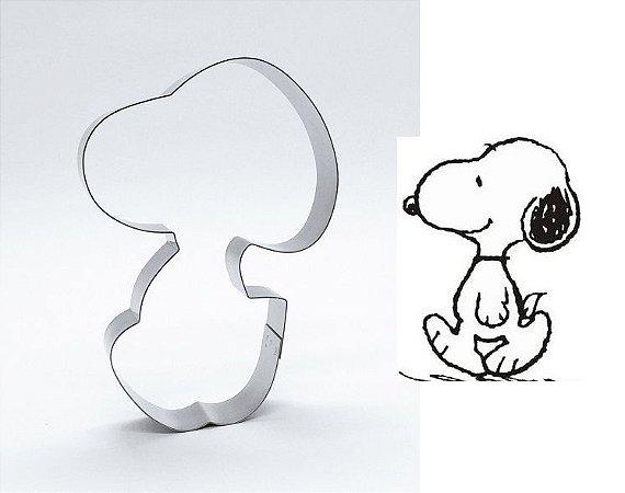Cortador de biscoito Snoopy