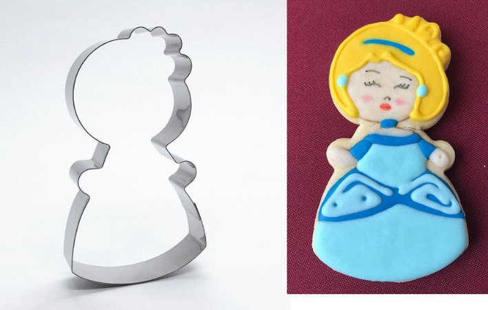 Cortador de biscoito Princesa 2