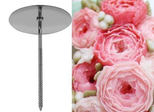 Armador de flores inox G (5cm)