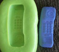 Molde de Silicone Telefone (2,7cm)