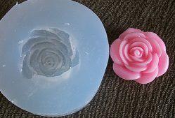 Molde de Silicone Rosa (2,3cm)