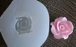 Molde de Silicone Rosa (1,5cm)