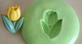 Molde de Silicone Tulipa (1,8cm)