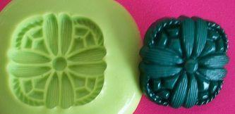 Molde de Silicone Botão (1,8cm)