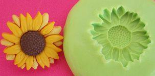 Molde de Silicone Girassol (2cm)