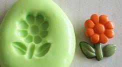 Molde de Silicone Flor (1,5cm)