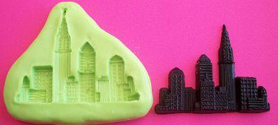 Molde de Silicone New York 2 (4,3cm)