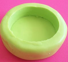 Molde de Silicone Forma p/ docinho e chocolate -Cód.3634 (3,3X1cm prof.)