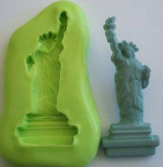 Molde de Silicone Estátua da liberdade- New York (4cm)