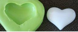 Molde de Silicone Coração (2,4cm)
