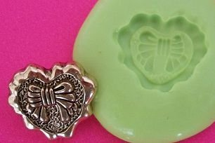Molde de Silicone Coração (1,5cm)