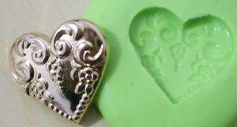Molde de Silicone Coração (2cm)