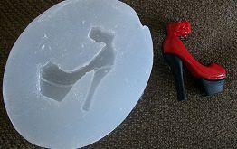 Molde de Silicone Sapato (2,5cm)
