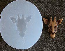 Molde de Silicone Girafa (1,7cm)