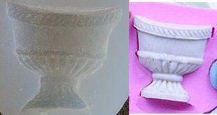 Molde de Silicone Vaso de flor 4535 (3,2 x 3cm)