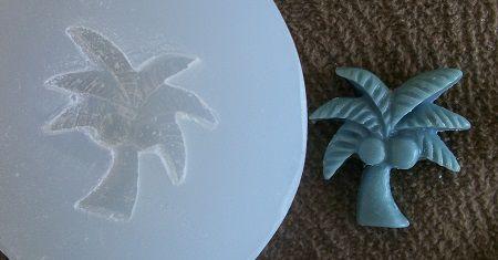Molde de Silicone Coqueiro (2cm)