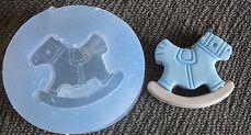 Molde de Silicone Cavalinho (2,4cm)