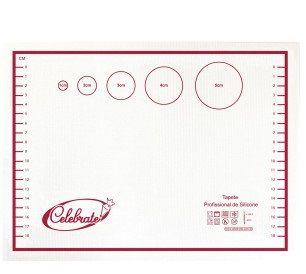 Tapete Profissional Silicone Pequeno (31x23cm) - 84-2000