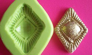 Molde de Silicone Medalhão P (3,3cm)