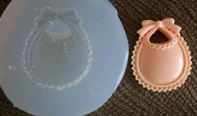 Molde de Silicone Babeiro (2cm)