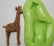 Molde de Silicone Girafa (4,5cm)