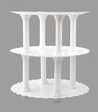 Colunas com Acabamento Ajustável (18 cm)