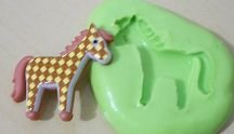 Molde de Silicone Cavalo (3cm)