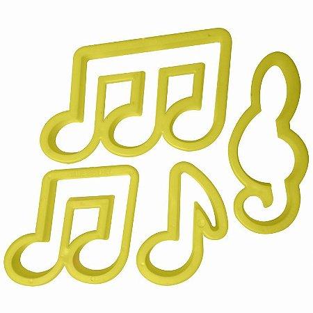 Notas Musicais 4 peças