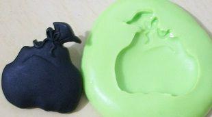 Molde de Silicone Saco presente- Natal (2,5cm)