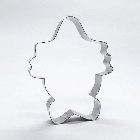 Cortador de biscoito Palhaço (10cm)