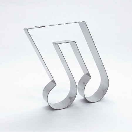 Cortador de biscoito Nota musical (9cm)
