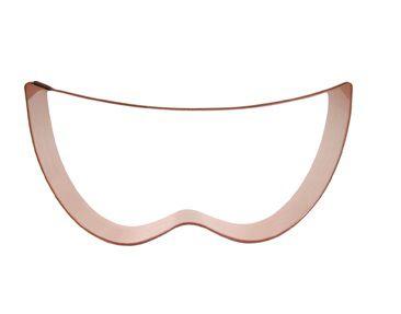Cortador de biscoito Máscara (10cm)
