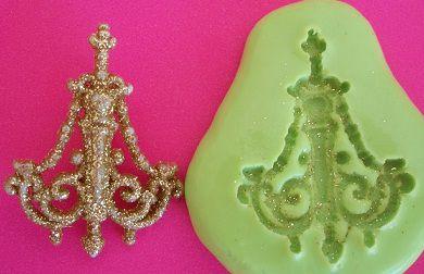Molde de Silicone Lustre - Bela (3,2cm)