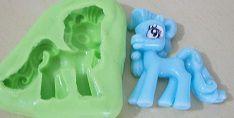 Molde de Silicone Little Pony G (cavalo) (3,7cm)