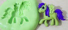 Molde de Silicone Little Pony 3(cavalo) (2,5cm)