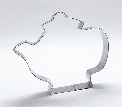 Cortador de biscoito Bule (10cm)